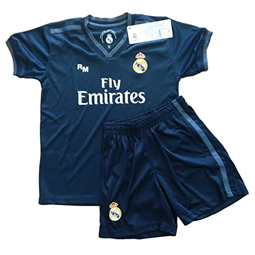 5e2025c7564f5 Real Madrid FC Kit Infantil Replica Segunda Equipación 2018 2019 (10 Años)