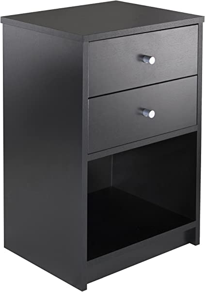 Winsome 20936 Ava Model Name Accent Table Black