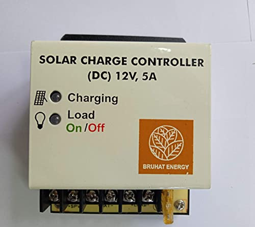 Bruhat Energy Solar Charge Controller (12V, 5A)