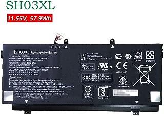 BOWEIRUI SH03XL (11.55V 57.9Wh 5020mAh) Laptop Battery Replacement for Hp Spectre X360 13-AC033DX 13-W013DX Series Notebook HSTNN-LB7L 901308-421 859026-421 859356-855 TPN-Q178 SHO3XL 13-AB001