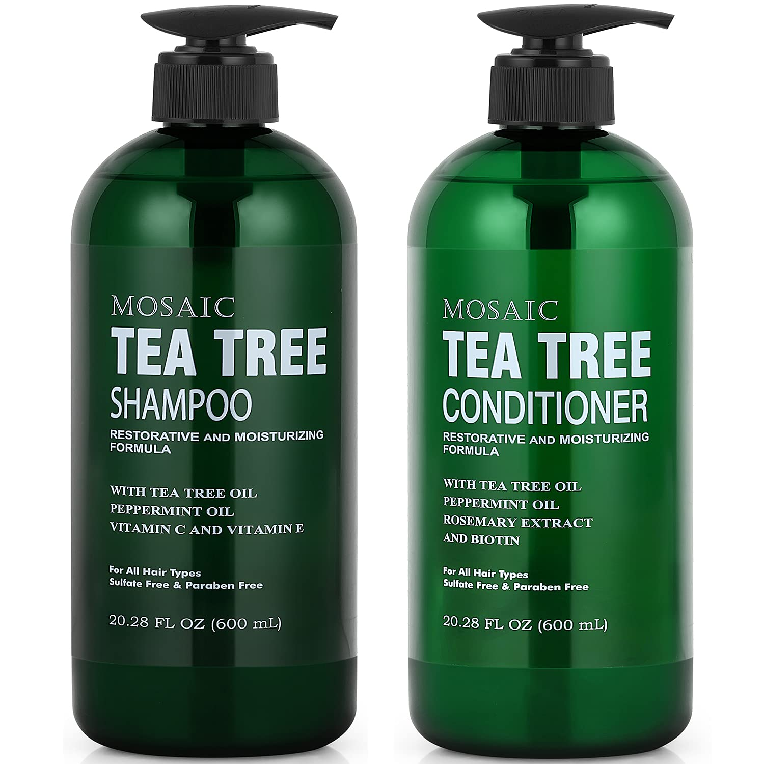 Tea Tree Shampoo Al sold out. and Conditioner Set For Purchase for Growth Hair Thinni