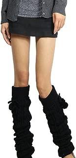 Women's Fashion Winter Leggings Boots Long Leg Warmer Knit Crochet Socks Knitted Warm Boot Toppers Cuffs thigh high socks