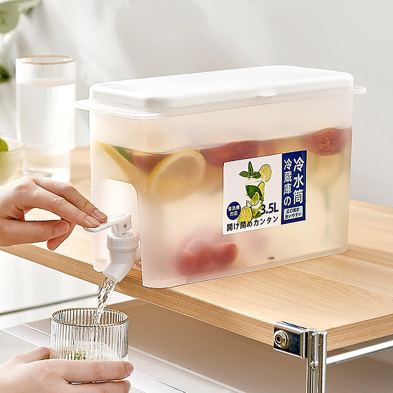 Cold Kettle Special sale item with cheap Faucet Large Teapot Capacityre Fruit Frigerator