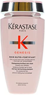 Kerastase Genesis Bain Nutri-Fortifiant Anti Hair-Fall Fortifying Shampoo (Dry Weakened Hair, Prone To Falling Due To Brea...