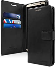Goospery Blue Moon Wallet for Samsung Galaxy S8 Plus Case (2017) Leather Stand Flip Cover (Black) S8P-BLM-BLK