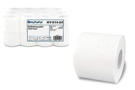 72 Rollen Toilettenpapier BIO TECH 3-lagig 250 Blatt Zellstoff Camping WC Papier