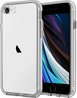 JETech Case for iPhone SE 2nd Generation, iPhone 8 and iPhone 7, 4.7-Inch, Shockproof Bumper Cover, Anti-Scratch Clear Bac...