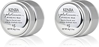 Kenra Platinum Working Wax #15, 1.4-Ounce (2-Pack)