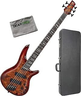Ibanez SRMS805 BTT SR Bass Workshop Multi-Scale 5-String Bass w/Hard Case and C