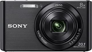 Sony DSC W830 Cyber-Shot 20.1 MP Point and Shoot Camera (Black) with 8X Optical Zoom