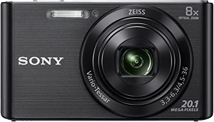 d0d0a2b449a Sony DSC W830 Cyber-Shot 20.1 MP Point and Shoot Camera (Black) with