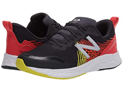 New Balance Kids Fresh Foam Tempo (Big Kid) (Phantom/Neo Flame) Boys Shoes