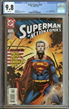 ACTION COMICS #775 CGC 9.8 WHITE PAGES