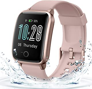 Smart Watch for Women Men, Waterproof Fitness Tracker with 11 Sports Modes, Heart Rate and Sleep Monitor for Android Phone...