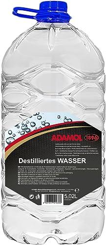ADAMOL 189651635139Eau Distillée 5l