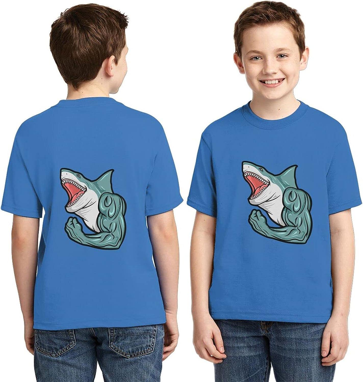 Dangerous Shark Boys 3D Kids Tshirt Clothes Soft Casual