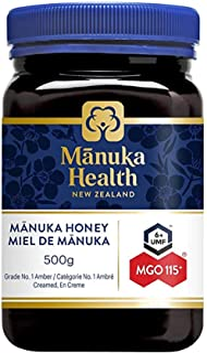 Manuka Health MGO 115+ Manuka Honey, 500G Expire date in 29/7/2023