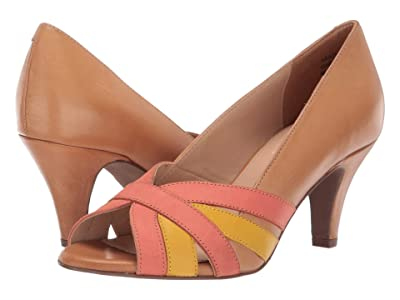 Seychelles Pennant (Tan Leather Multi) High Heels