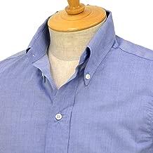[INDIVIDUALIZED SHIRTS×RESOLUTE(林 芳亨氏) Special Model(Front 6 Button)【インディビジュアライズドシャツ×リゾルト】]ボタンダウンシャツ (スタンダードフィット/ユーロシャンブレーブルー)