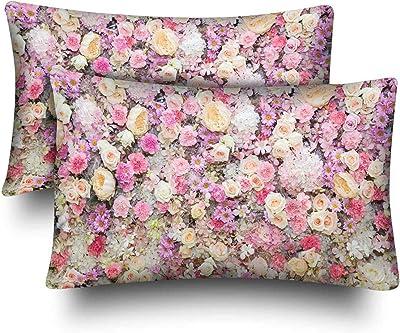 Amazon.com: fumak Blissy Funda de almohada de seda – 1 par ...
