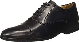 Arrow Men's Black Leather Formal Shoes-8 UK/India (42 EU) (2521801505)
