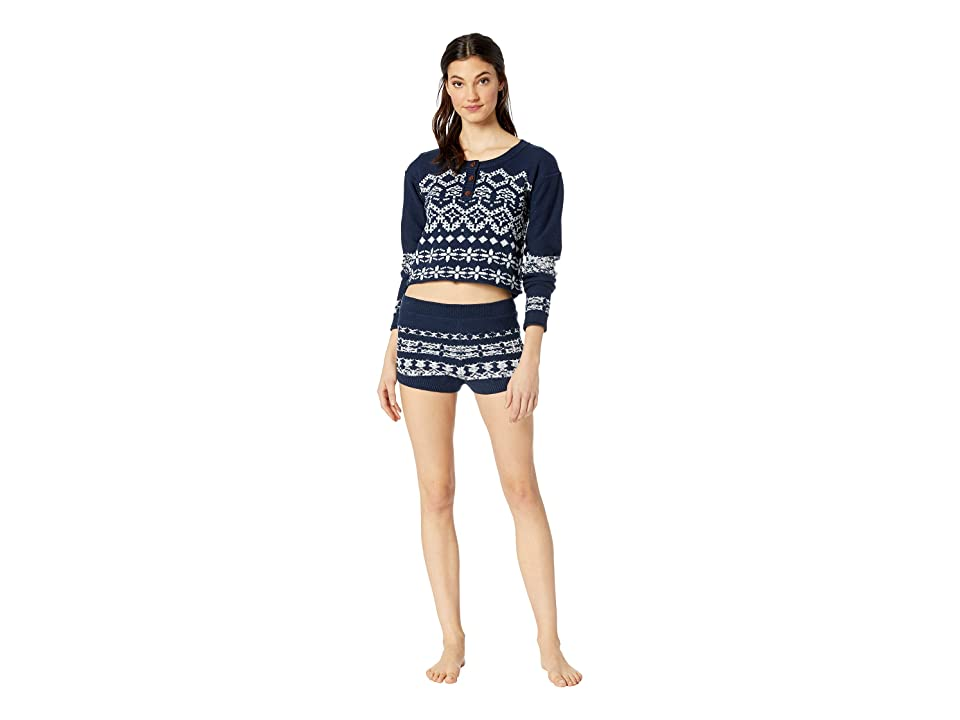 Free People Cabin Day Set (Navy) Women