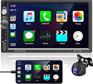 $88 » Sponsored Ad - Podofo Car Stereo Radio Receiver Compatible with D-Play, 7 Inch HD LCD Capacitive Touchscreen Head Unit Sup...