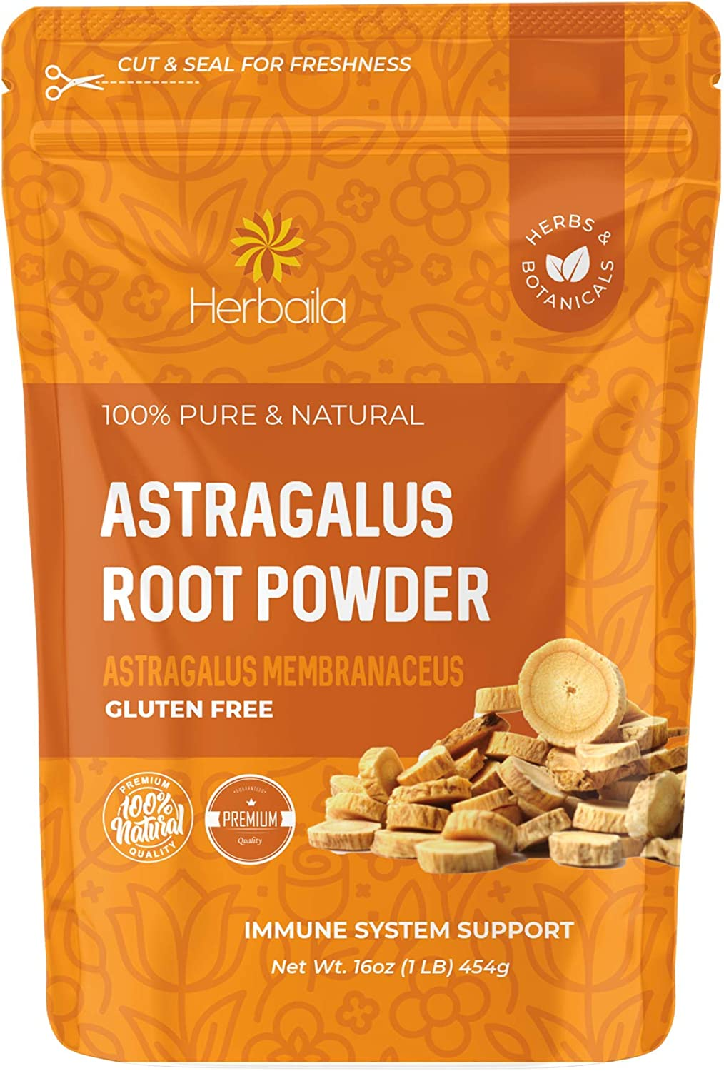 Astragalus Root Baltimore Mall Powder High quality new 1 Supports Pound. Imm
