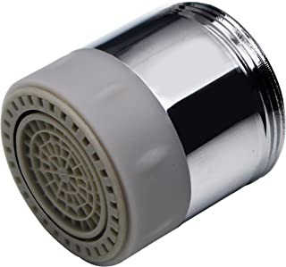 YOO.MEE Faucet Aerator with Dual- Function 2 Flow Spray, Chrome