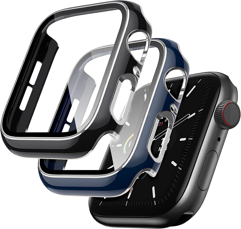 Lovrug 2 Superlatite Pack Cases Compatible with SE Long-awaited Case Apple 44mm Watch Ser