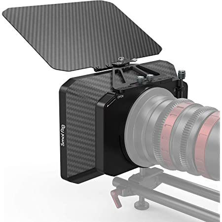 SMALLRIG Matte Box Leggera Mattebox per Fotocamere DSLR Mirrorless Film Style - 2660