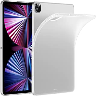 ESR Clear Case Compatible with iPad Pro 11 Inch 2021 (3rd Generation), Soft Protective Back Shell, Supports Pencil 2 Wirel...