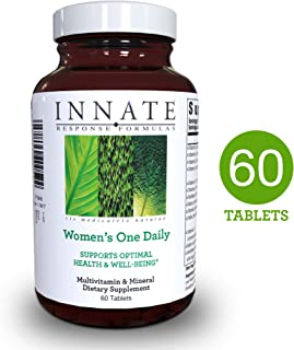 INNATE Response Formulas - Women's One Daily, Foundational Multivitamin to Support Women's Health, 60 Tablets