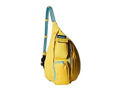 KAVU Mini Rope Sling (Saffron) Sling Handbags