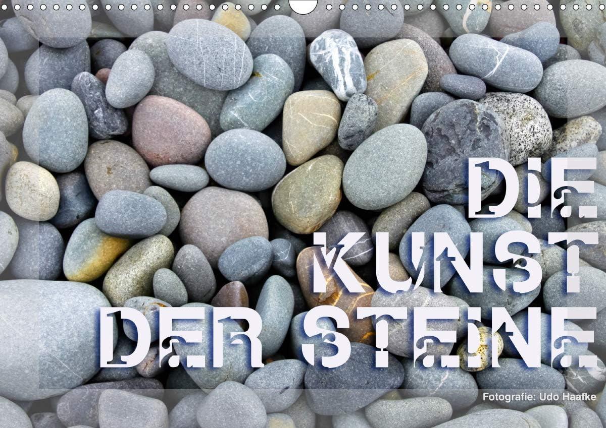 Die Kunst der free shipping Steine 2021 Wandkalender DIN quer Superlatite A3
