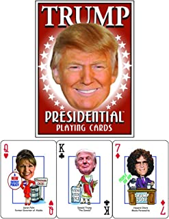 President Donald  J Trump Presidential Playing Cards by Parody Productions -  Revised for 2020 Election
