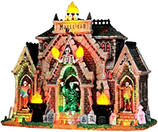 Lemax 35491 ALL HALLOWS MAUSOLEUM Spooky Town Lighted Building Halloween Decor