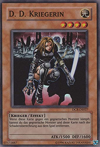 DCR-DE027 - D. D. Kriegerin - Super Rare - Yu-Gi-Oh - Deutsch - 1. Auflage