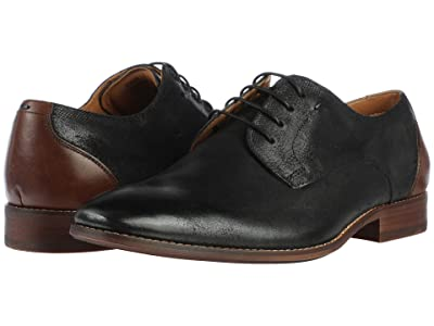 Steve Madden Dixxen Oxford (Black Leather) Men