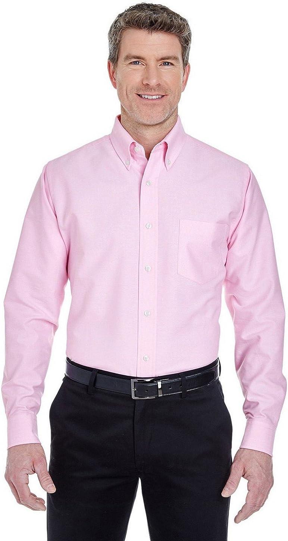UltraClub 8970 Long-Sleeve Oxford Dress Shirt