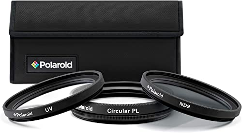 wholesale Polaroid Optics 72mm 3-Piece Filter Kit Set [UV,CPL, Neutral Density] includes outlet sale Nylon Carry Case – Compatible online w/ All Popular Camera Lens Models. sale