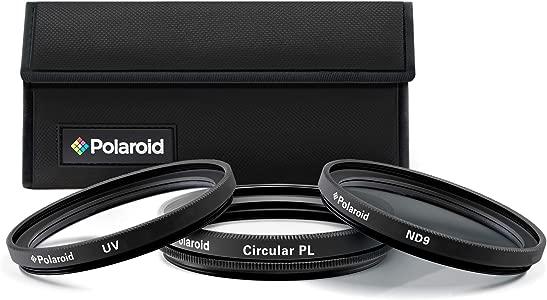 Polaroid Optics Piece Filter Kit Set  UV CPL  Neutral Density  ...