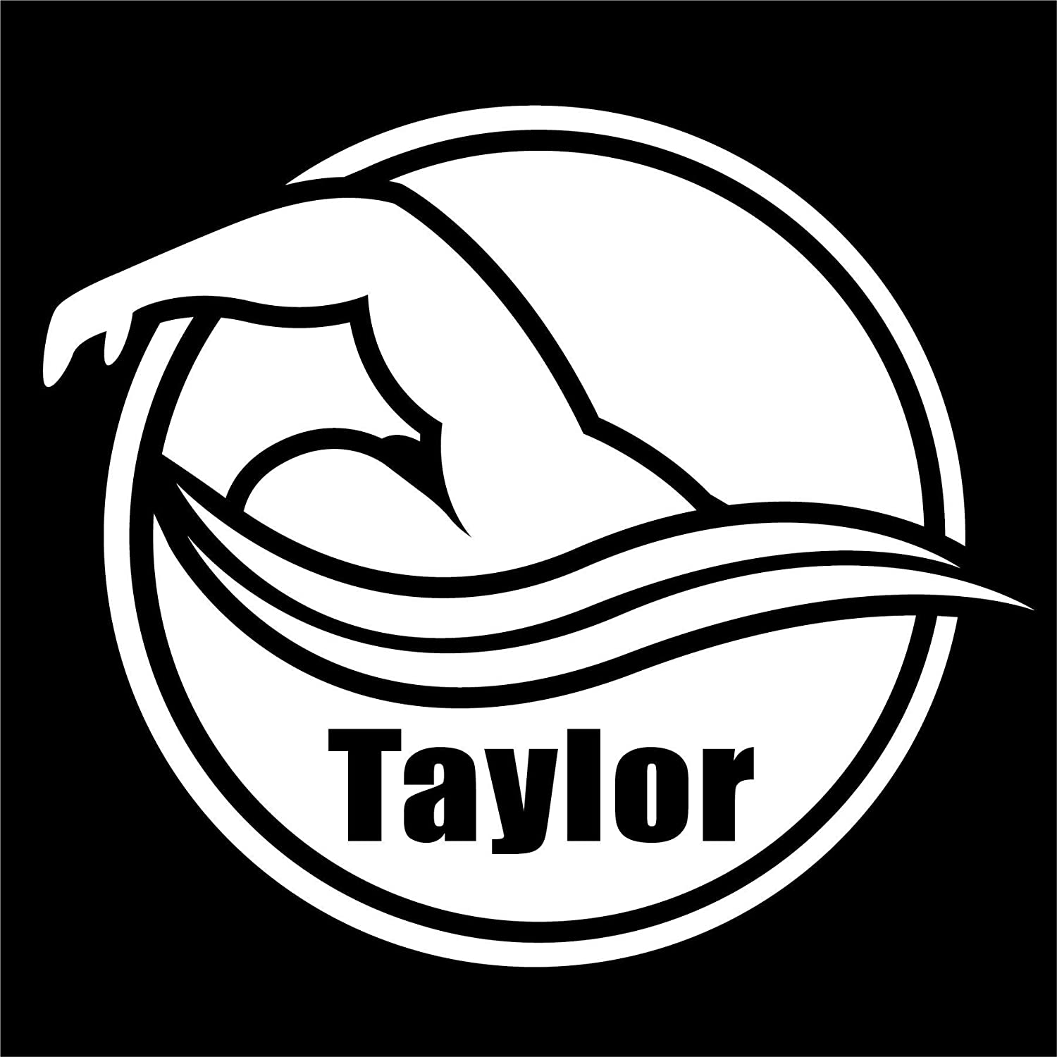 New products world's highest quality store popular Personalized Swim Team Car Decal Custom Swimming 7 8 4 i