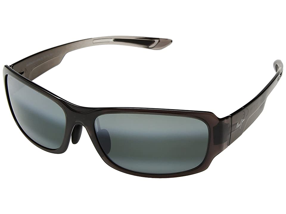 Maui Jim Monkeypod (Grey Fade/Neutral Grey) Athletic Performance Sport Sunglasses