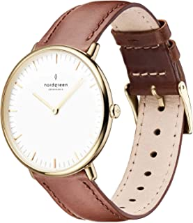 Native Scandinavian Gold Unisex Analog Watch with Strap 10053