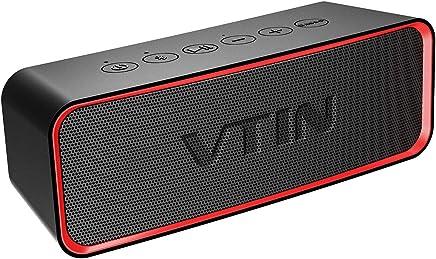 Altoparlante Bluetooth Portatile, VTIN-R2 14W Potente Cassa Bluetooth 4.2 Impermeabile IPX6 con Basso+ Esclusivo 24 Ore di Gioco con Doppia Cassa per Casa, Giardino, Festa, Auto, Viaggio, Spiaggia