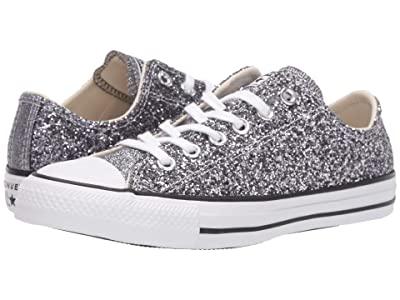 Converse Chuck Taylor All Star Glitter Ox (Silver/Black/White) Women