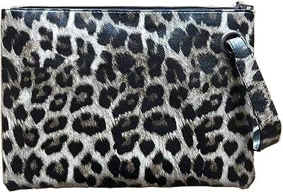 ZOONAI d Clutch / Handtasche, Leder, groß, für Damen