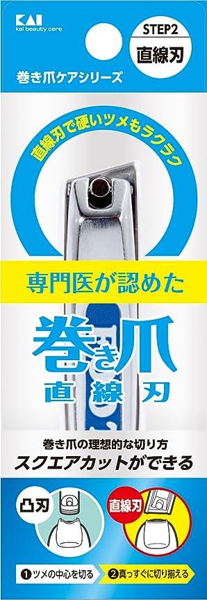 カンガルーセットアップコンプライアンス巻き爪用直線刃ツメキリ KQ2034