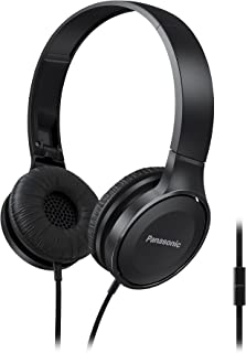 Panasonic Lightweight Foldable Headphones with Microphone, Call Controller and 3.9 ft Audio Cord Compatible with iPhone, B...